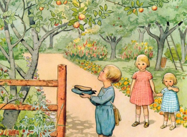 Children and Appletree