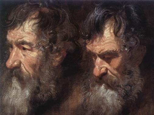 A Man's Head, Van Dyck