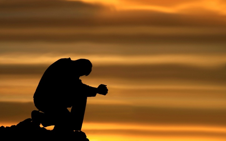 Kneeling Man