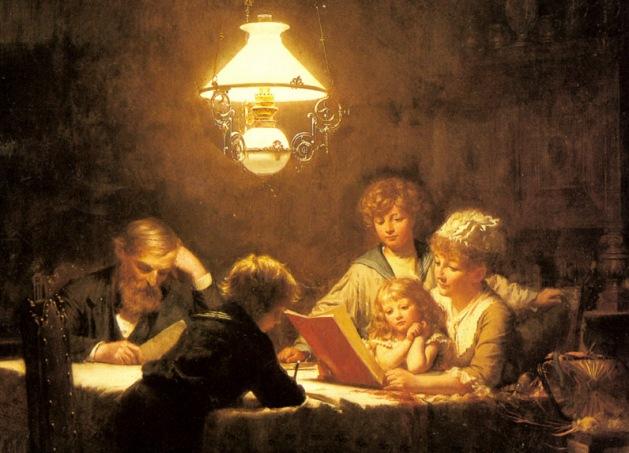 Ekvall Knut, The Reading Lesson