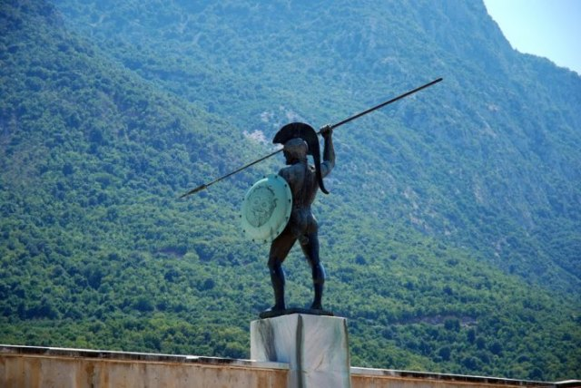 Leonidas Monument, Thermopylae